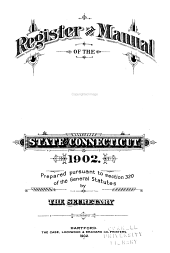 Register and Manual - State of Connecticut