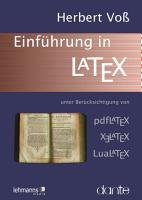 Einf  hrung in LaTeX PDF