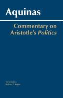 Commentary on Aristotle s Politics