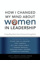 How I Changed My Mind about Women in Leadership PDF