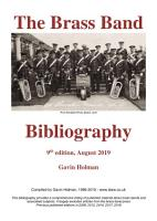 Brass Bands of the British Isles 1800 2018   a historical directory PDF