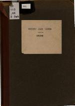 Whiskey Jack Yarns