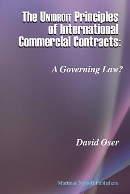 The Unidroit Principles of International Commercial Contracts PDF