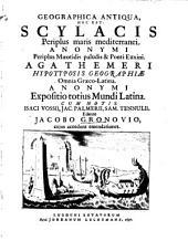 Geographica antiqua: h.e. Scylacis periplus maris mediterranei