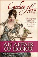 An Affair of Honor (A Regency Romance)
