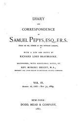 Diary and Correspondence of Samuel Pepys: Volumes 9-10