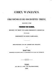 Codex Wangianus