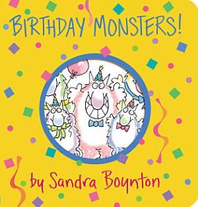 Birthday Monsters  Book