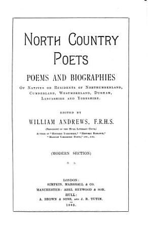 North Country Poets PDF