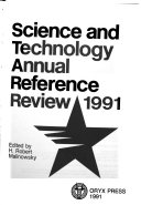 Science and Technology Annual Reference Review