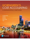 Horngren s Cost Accounting  a Managerial Emphasis PDF
