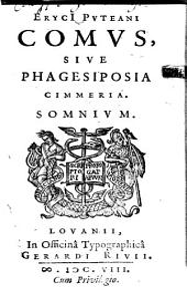 Comus sive Phagesiposia cimmeria: somnium