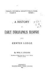 Indiana Historical Society Publications: Volume 3