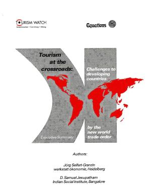 Tourism at the Crossroads   Challenges to Developing Countries PDF
