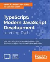 TypeScript  Modern JavaScript Development PDF