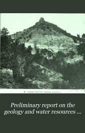 Preliminary Report on the Geology and Water Resources of Central Oregon