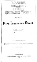 Insurance World Pocket Fire Insurance Chart for 1887     PDF