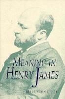 Meaning in Henry James PDF