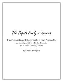 The Pegoda Family In America