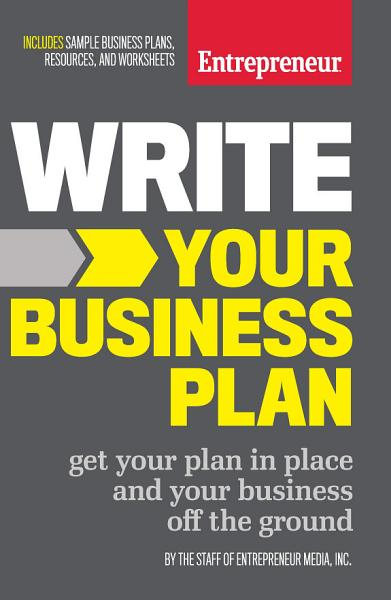 Download Write Your Business Plan Book