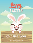 Easter Coloring Book for Kids Ages 1-4
