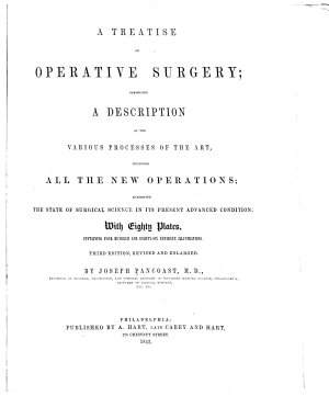 A Treatise on Operative Surgery PDF