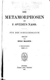 Die Metamorphosen des P. Ovidius Naso