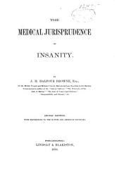 The Medical Jurisprudence Of Insanity Book PDF