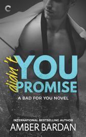 Didn't You Promise: A Bad Boy Billionaire Romance