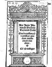 Ars juris. - Rome, Mazochius 1516
