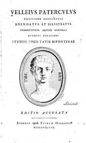 Velleius Paterculus: novissime recognitus emendatus et illustratus : praemittuntur Henrici Dodwelli Annales Velleiani