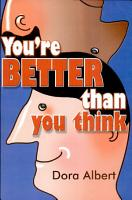 You re Better Than You Think PDF