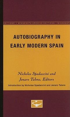 Autobiography in Early Modern Spain PDF