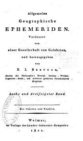 Allgemeine geographische Ephemeriden: Band 36
