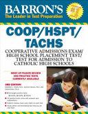 Barron s COOP HSPT Tachs  3rd Edition Book