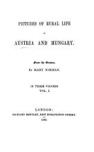 Pictures of rural life in Austria and Hungary  novels and tales  by A  Stifter   From the Germ  by M  Norman PDF