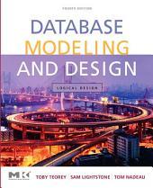 Database Modeling and Design: Logical Design, Edition 4