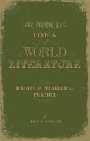 The Idea of World Literature PDF