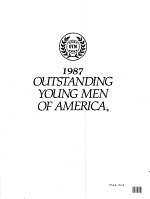 1987 OUTSTANDING YOUNG MEN OF AMERICA PDF