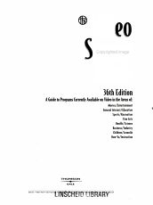 Video Source Book  Video program listings A I PDF