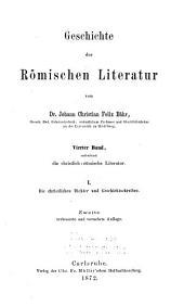 Die christlichen dichter und geschichtschreiber Roms