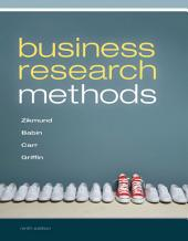 Business Research Methods: Edition 9