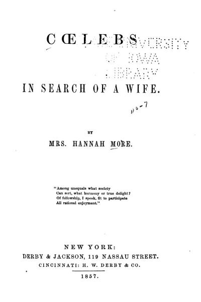 Cœlebs in Search of a Wife