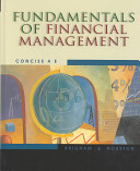 Fundamentals of Financial Management  Concise with Student Resource CD ROM PDF