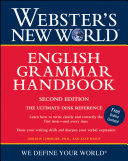 Webster s New World English Grammar Handbook