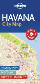 Lonely Planet Havana City Map