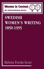 Swedish Women's Writing 1850-1995