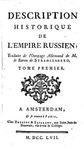 Description historique de l'Empire russien: Volume2