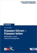 Klassen f  hren     Klassen leiten PDF