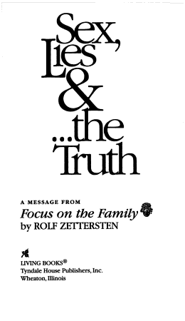 Sex  Lies and the Truth PDF